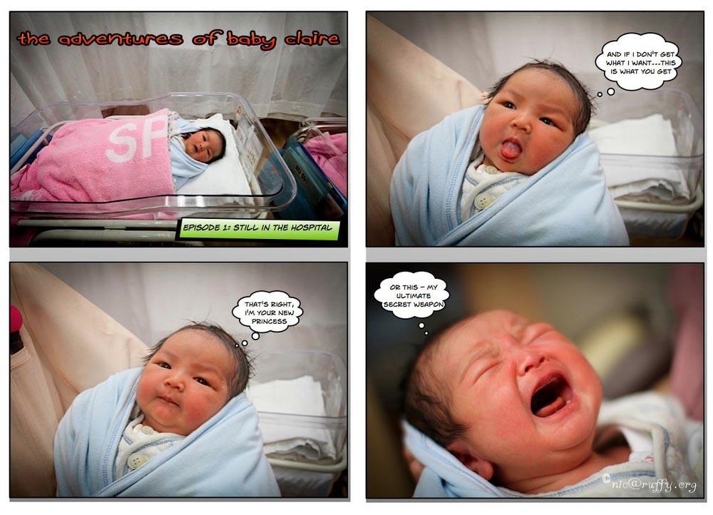 Baby Comic