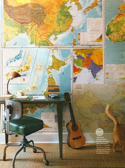 Mapas, mi actual obsesión