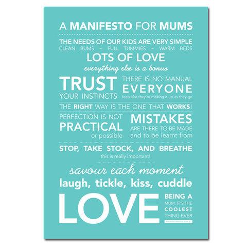 Manifiesto para mamás