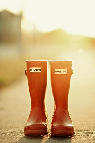 """¿Por qué """"Con botas de agua""""?"""
