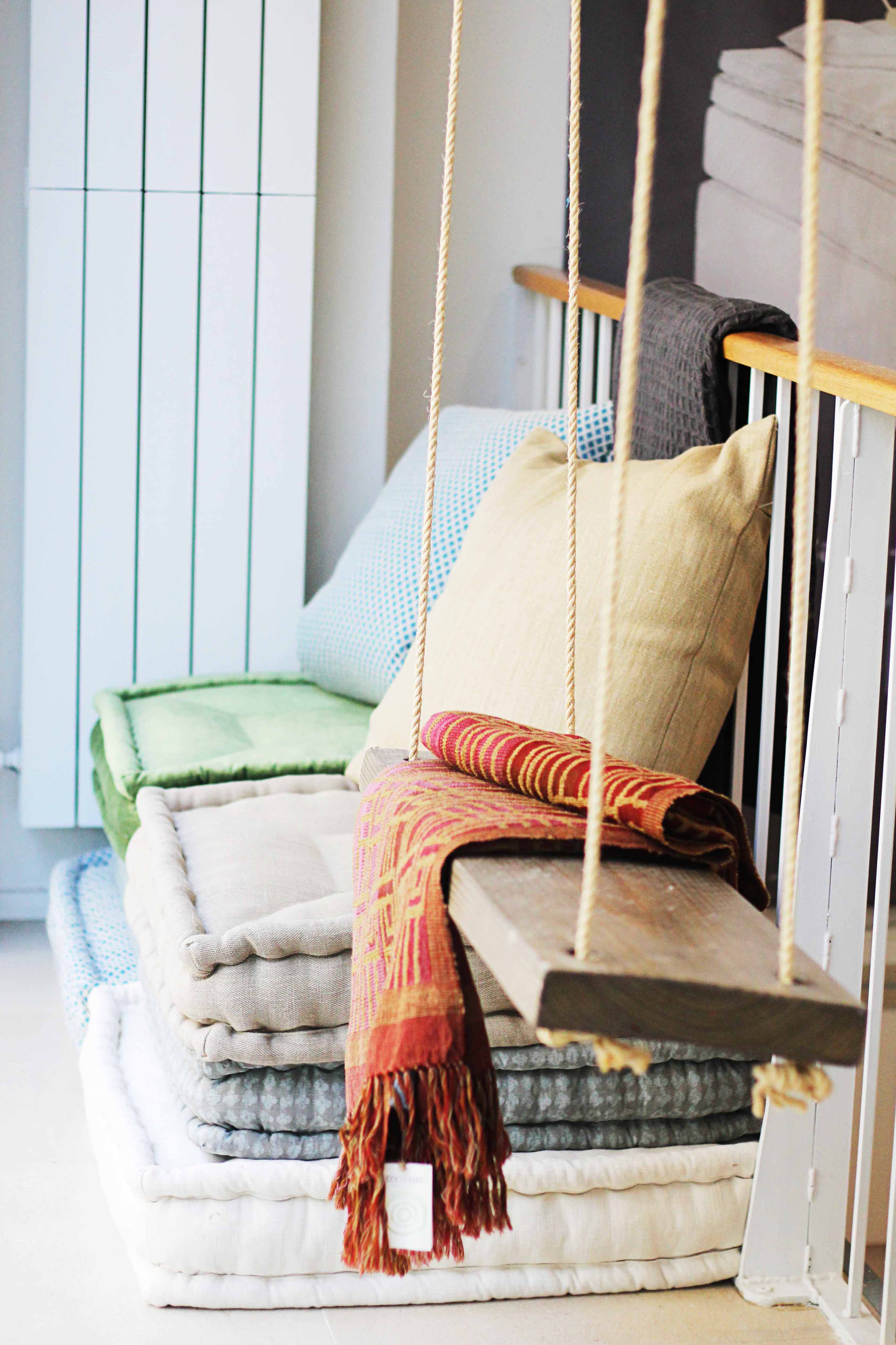 Coco mat sleep on nature con botas de agua - Hacer cojines para sillas ...