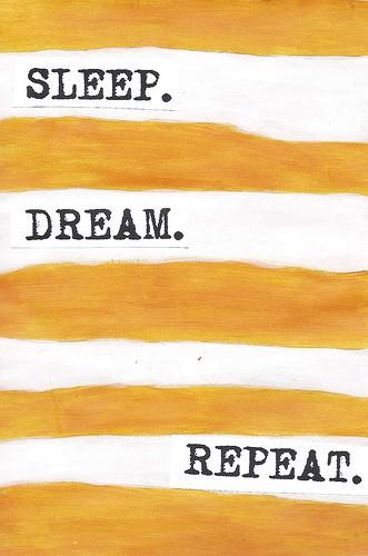 Sueño… mucho sueño