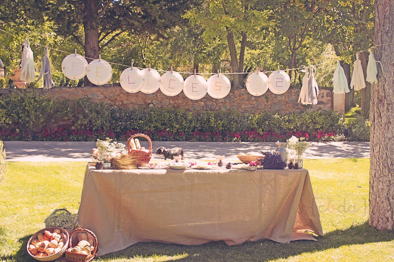 Un cumple de mayores con botas de agua for Casa jardin buffet