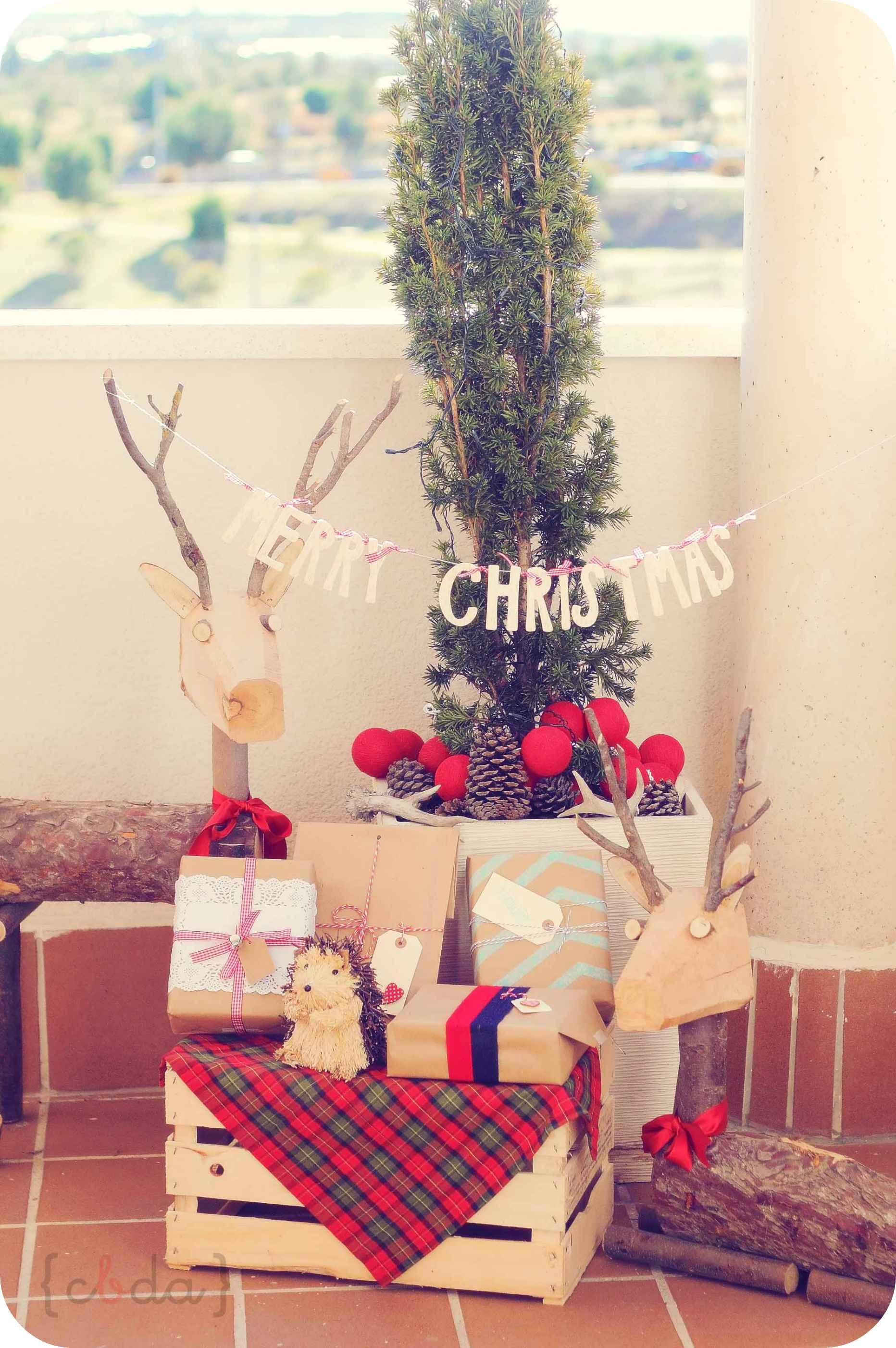 La decoración navideña de {cbda}