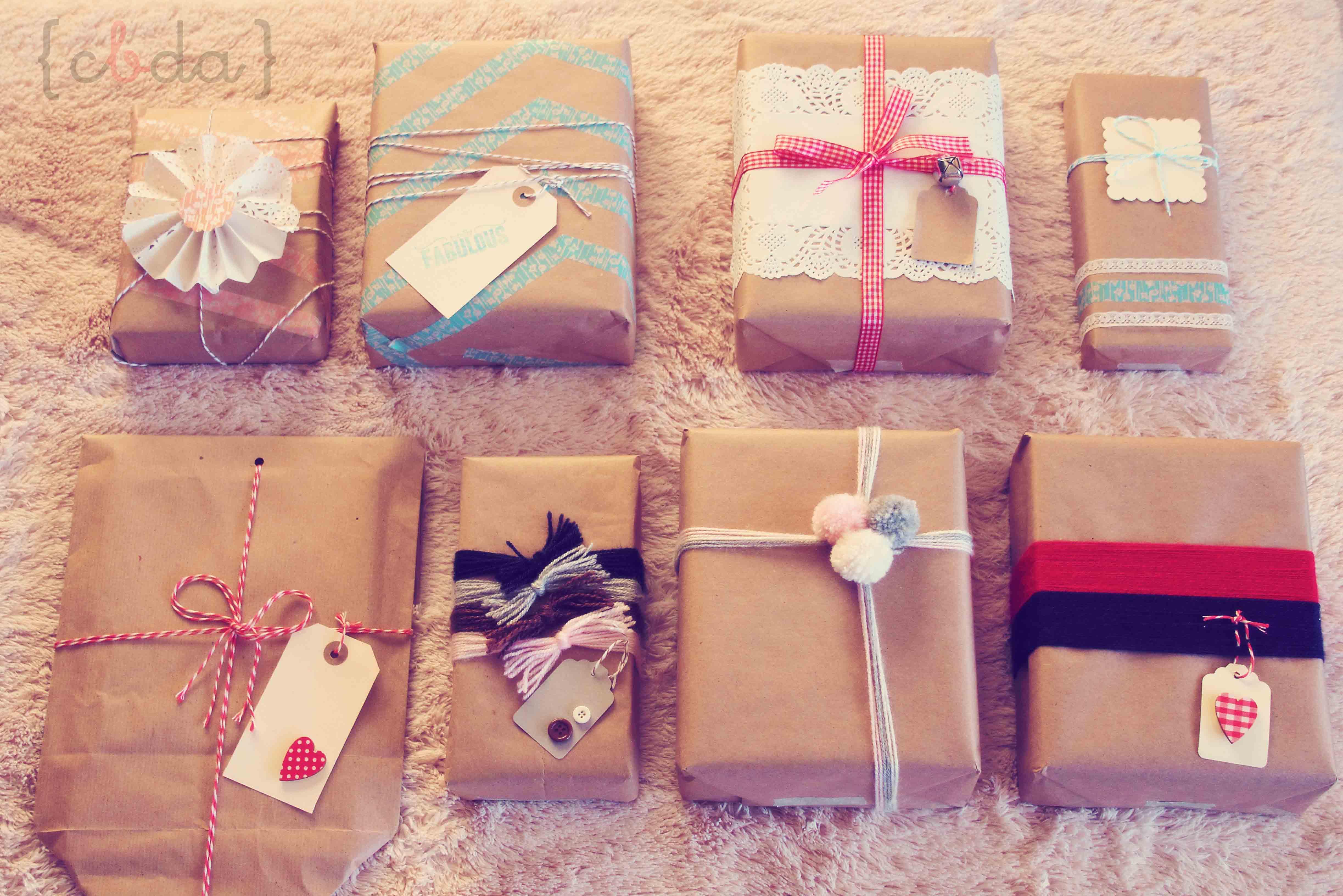 9 maneras de envolver un regalo con botas de agua - Paquetes originales para regalos ...