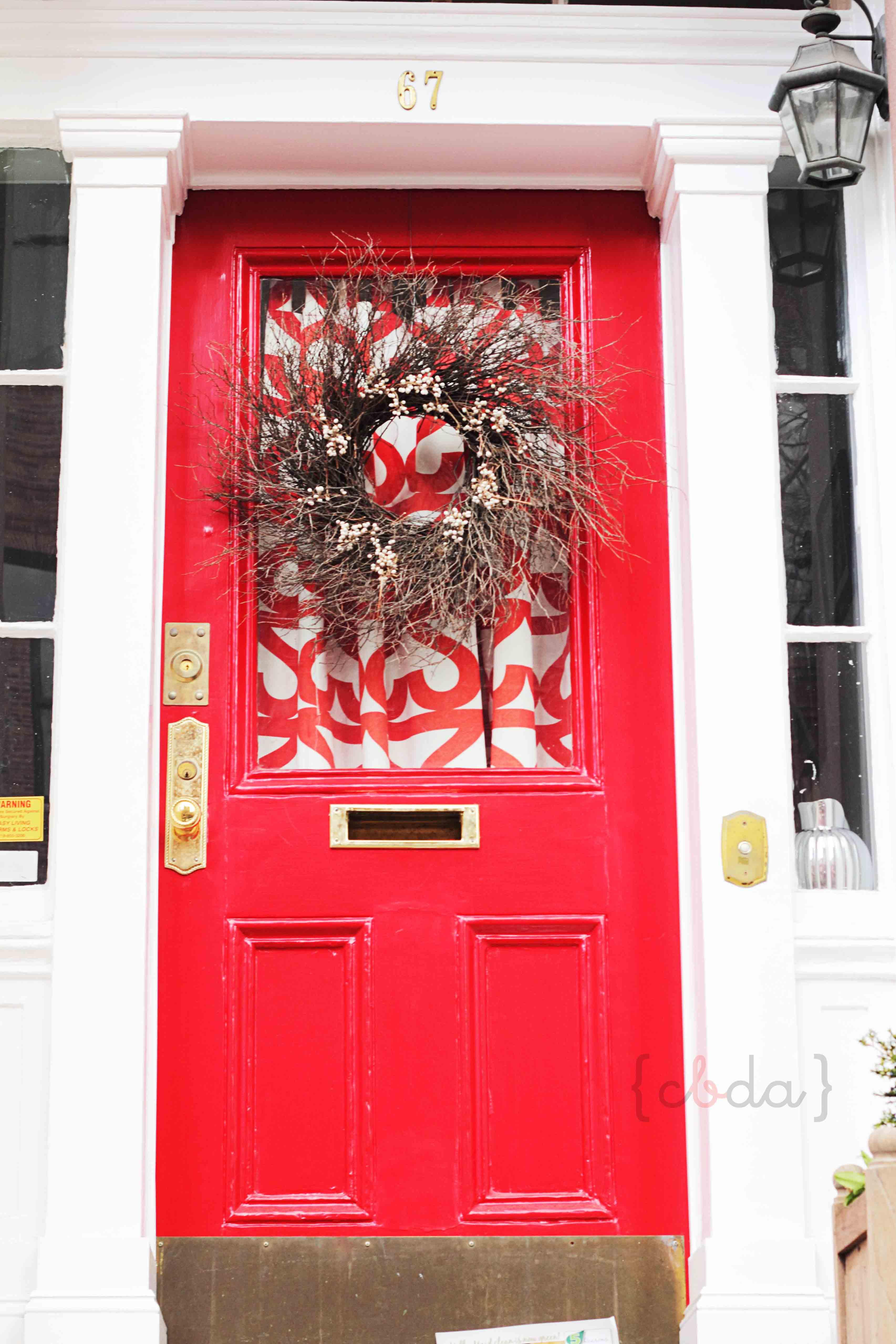 Navidad de puerta en puerta con botas de agua for Decoracion en puertas de navidad