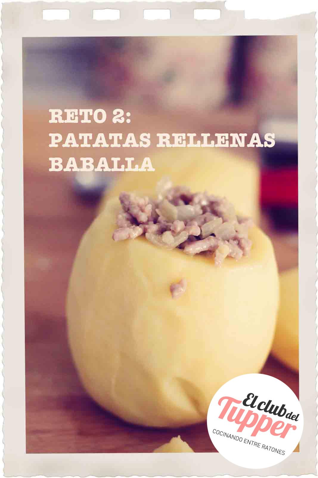 Club del Tupper : Patatas rellenas