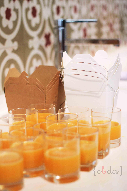 Personalizando cajas de comida china