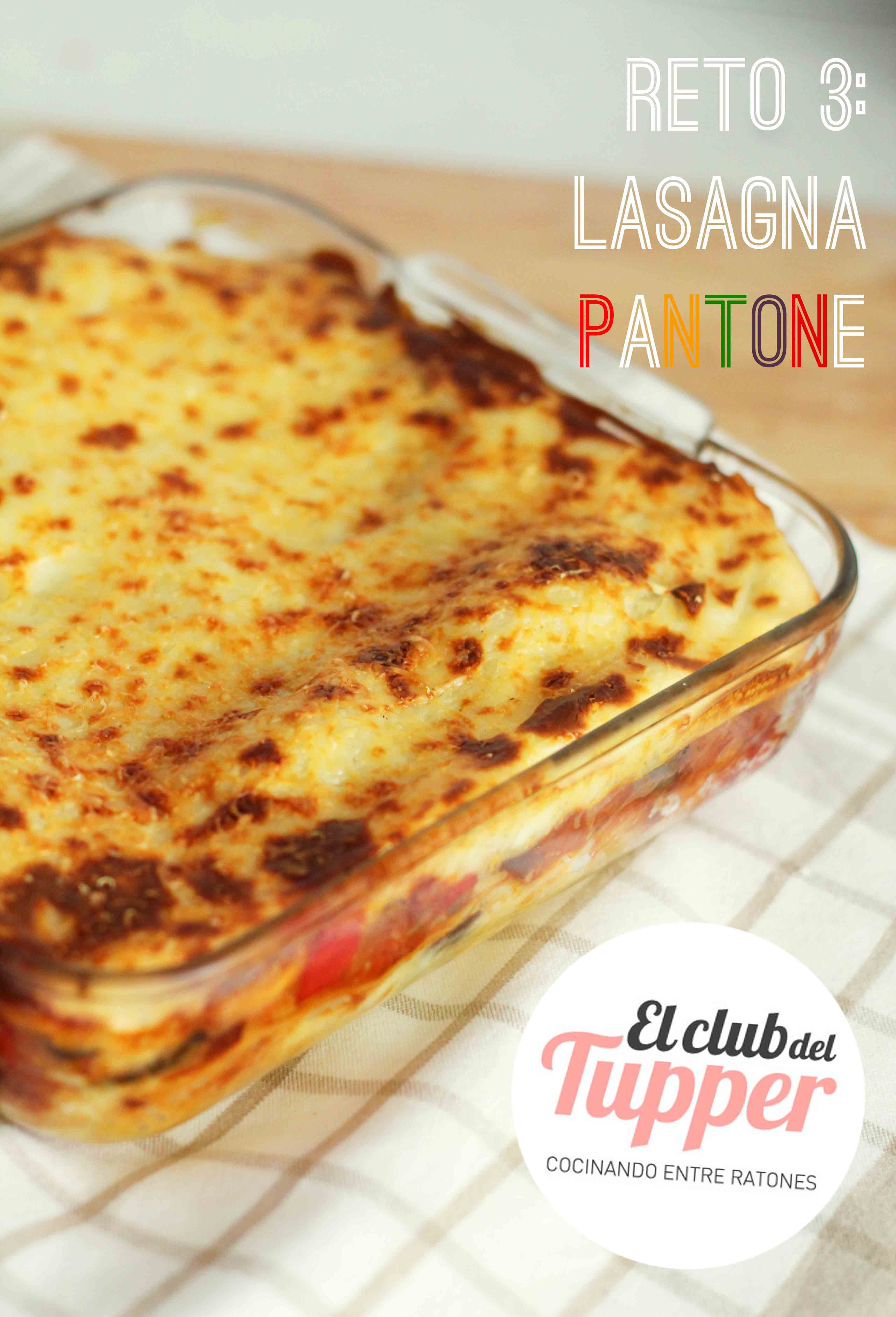 El Club del Tupper: Lasagna Pantone